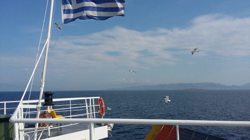 Στο πλοίο για την Αίγινα