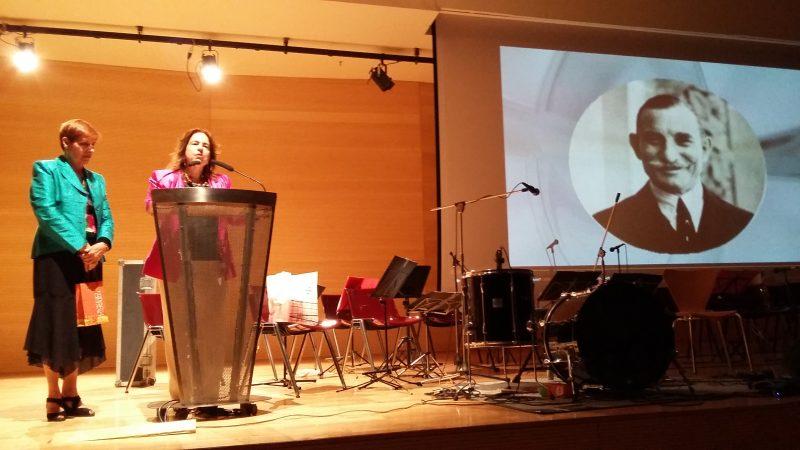 Η πρώην πρόεδρος των Φίλων κα Κατερίνα Κορρέ- Ζωγράφου.