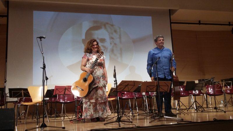 Ο Βαγγέλης Μπουντούνης και η Μάρω Ραζή.