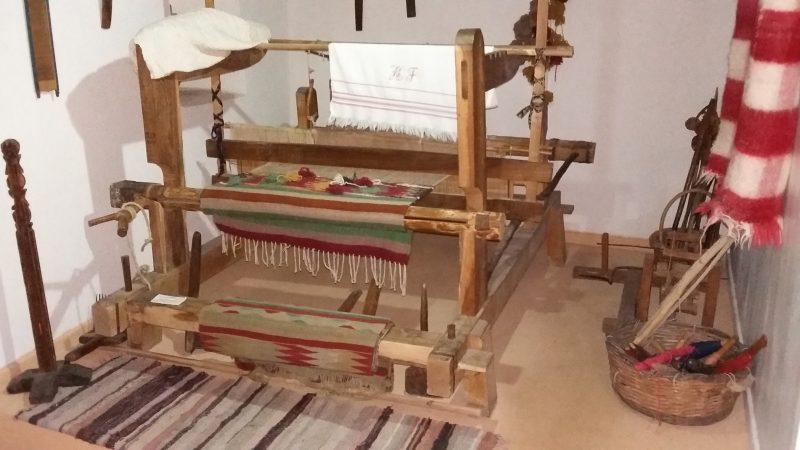 Λαογραφικό Μουσείο Στεμνίτσας: Ο αργαλειός.