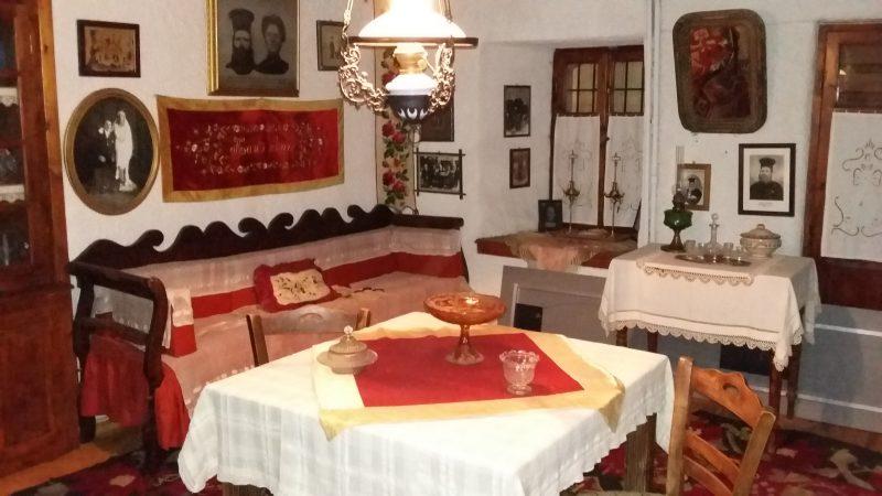 Λαογραφικό Μουσείο Στεμνίτσας: Αναπαράσταση εσωτερικού χώρου.
