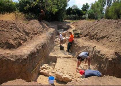 Αμάρυνθος. ανασκαφή