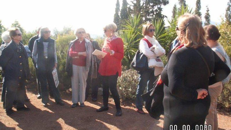 Κήπος Σπάροζα, Παιανία - Ξενάγηση από την κ. Fleur Παυλίδη