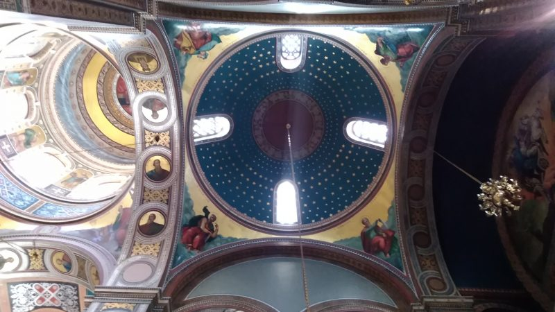 Εσωτερική άποψη του ναού.