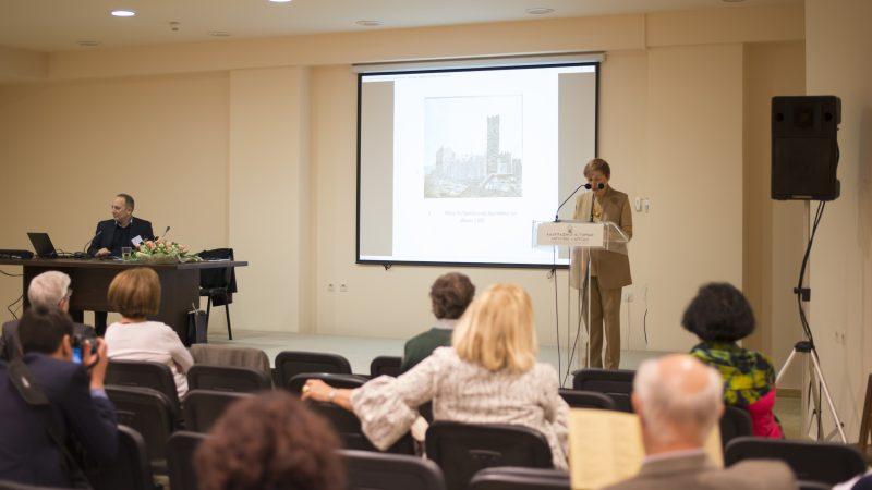 Ρωξάνη Τσιμπιροπούλου, Πρόεδρος των Φίλων του Μ. Μπενάκη, ομιλία στο Συνέδριο του ΛΙΜΛ