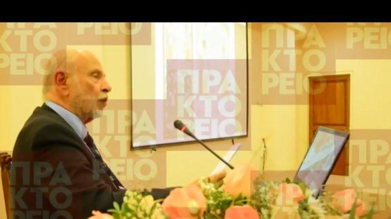 Άγγελος Δεληβορριάς, Καθηγητής ΕΚΠΑ, πρώην Διευθυντής του Μουσείου Μπενάκη και μέλος της Ακαδημίας Αθηνών