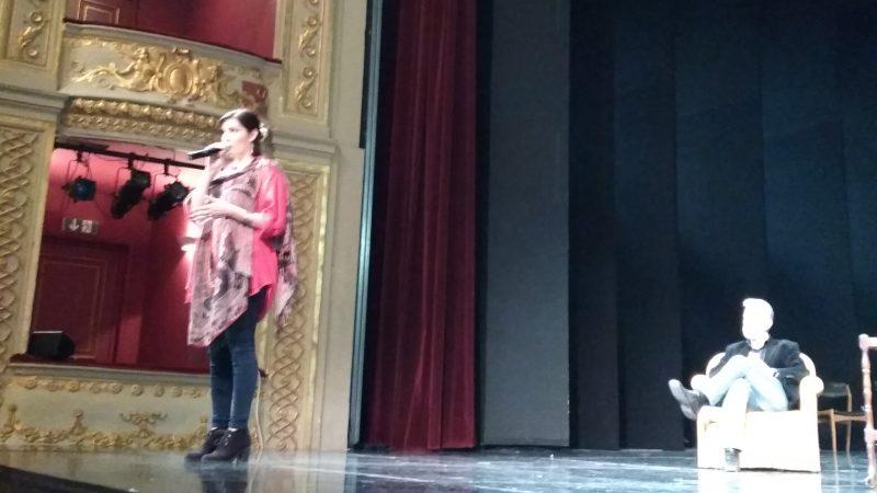 Δημοτικό Θέατρο Πειραιά - από την πρόβα